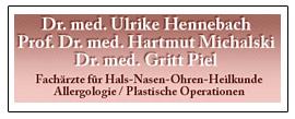 Dr. Ulrike Hennebach / Prof. Hartmut Michalski